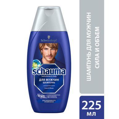 Schauma Шампунь мужской, с хмелем, для ежедневного применения, 225 мл
