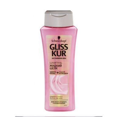 GLISS KUR шампунь 250мл Жидкий шелк д/ломких волос