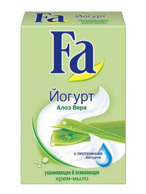 FA мыло YUGHURT Алоэ вера 90гр