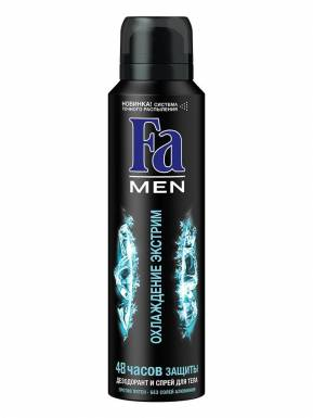 FA MEN Дезодорант-аэрозоль 150мл Охлаждение Экстрим