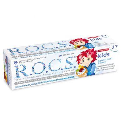 ROCS Зубная паста Фруктовый рожок (без фтора) д/детей 45г