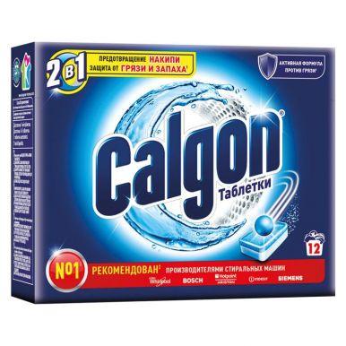 CALGON средство д/смягчения воды 2в1 12 таблеток