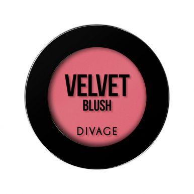 Divage Румяна компактные Velvet №8704