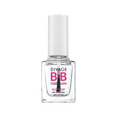 Divage Bb Топ-покрытие для ногтей Gloss up pack
