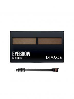 Divage Набор для моделирования формы бровей `eyebrow styling kit` №01