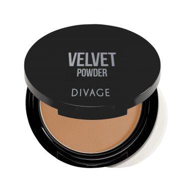 Divage Пудра Компактная Velvet №5206