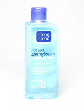J&J Clean&Clear Очищающий лосьон для чувствительной кожи 200мл