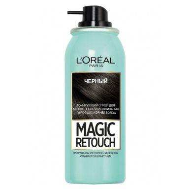 LOREAL Magik Retouch Спрей д/вол.тонир. 1 Черный