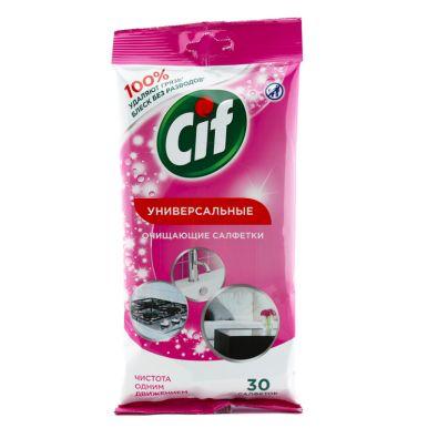 CIF Чист. Салфетки Для очищения поверхностей 30шт