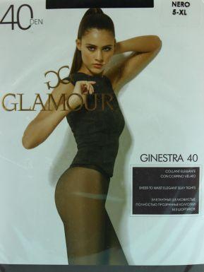 Glamour колготки GINESTRA 40 p.XL NERO