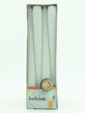BOLSIUS 1030096 свеча Антик. белые 4шт