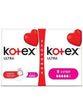 KOTEX прокладки ULTRA SUPER DRY&SOFT 16шт
