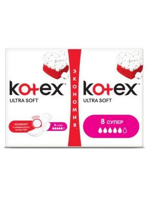 KOTEX прокладки ULTRA SUPER EXTRA&SOFT 16шт