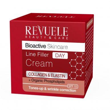 Revuele Bioactive skincare Collagen&Elastin+ Organic Phospholipids Интенсивный крем-филлер для лица_