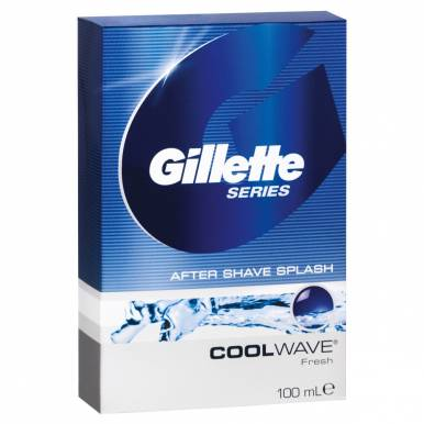 GILLETTE лосьон после бритья SERIES COOL WAVE 100ml (397/794/697)