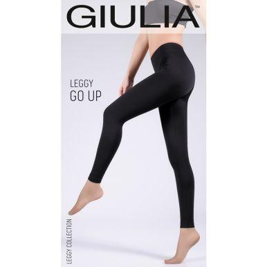 Леггинсы спортивные Giulia LEGGY GO UP, black, S