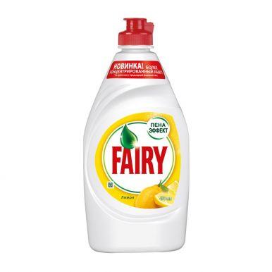 Fairy средство для мытья посуды Сочный Лимон, 450 мл