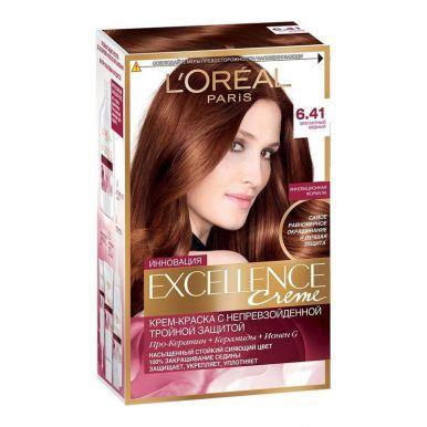 Excellence краска для волос, тон 6.41, цвет: элегантный медный