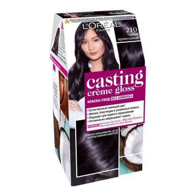 CASTING Crem Gloss Краска д/волос №210 черный перламутровый