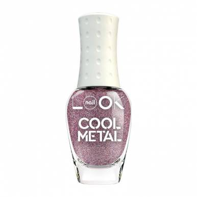 31964 Лак для ногтей nailLOOK TRENDS COOL Metal, Steel Violet, 8,5 мл