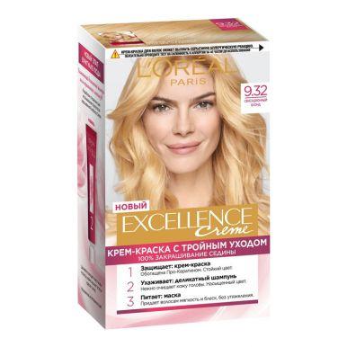 EXCELLENCE краска №9.32 Сенсационный Блонд