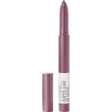 Maybelline помада-стик для губ Super Stay Matte, тон Ink Crayon, тон 25, цвет: Оставайся исключением