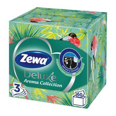Салфетки Zewa Deluxe Арома Коллекция 3-х сл.60шт(кор)