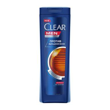 CLEAR NUTRIUM Шампунь для мужчин против перхоти Против выпадения волос для ослабленных волос, 200 мл