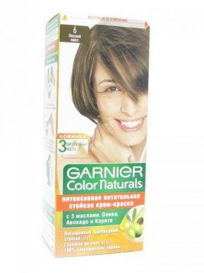 GARNIER COLOR NATURALS крем-краска №6 лесной орех_