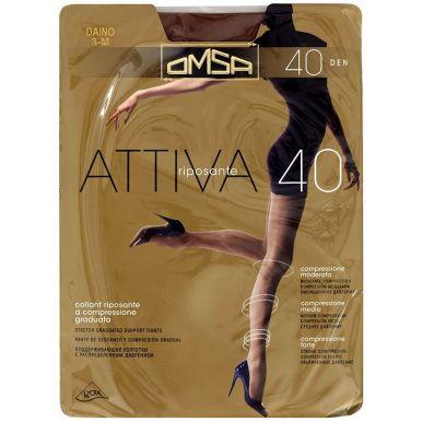 Omsa колготки Attiva 40 р.3 цвет CARAMELLO