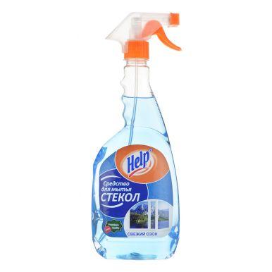 HELP средство для мытья стекол курок 750г Свежий озон