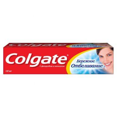 COLGATE FCN89246 зубная паста Бережное отбеливание, 100 мл