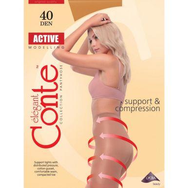 Conte колготки ACTIVE 40 den, цвет: bronz, размер: 5