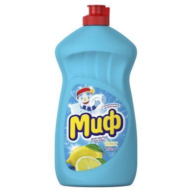 МИФ средство д/посуды Лимонная свежесть 500мл