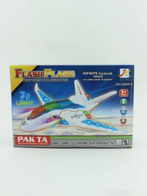 Игрушка Самолет 3d 23,5х8х16см, свет, артикул: HWA1064826
