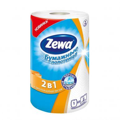 ZEWA полотенце кухонное  бум.2в1 1шт