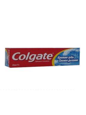COLGATE FCN89277 з/п 50мл Крепкие зубы Свежее дыхание