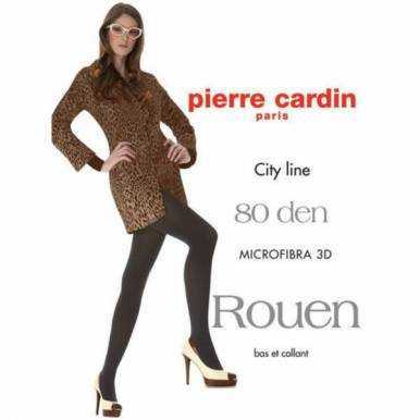 Pierre Cardin колготки ROUEN 80 р.3 цвет NERO