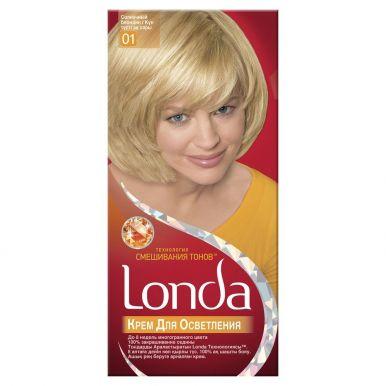 LONDACOLOR крем-краска 01 солнечный блондин (осветлитель)