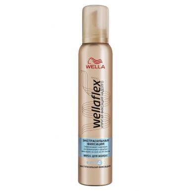 WELLA FLEX Пена д/волос экстрасильной фикс 200ml WF 202/375/186