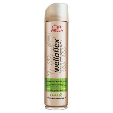 WELLA FLEX Лак д/волос супер-сильной фикс. 250ml WF466/203/357