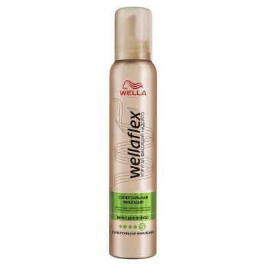 Wellaflex пена для волос супер-сильной фиксации, 200 мл