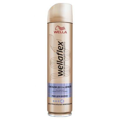 WELLA FLEX Лак д/волос Длительная поддержка объема экстра-сильной фиксации 250млWF837/207/363