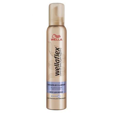 Wellaflex пена для укладки волос объем до 2-х дней экстра-сильной фиксации, 200 мл