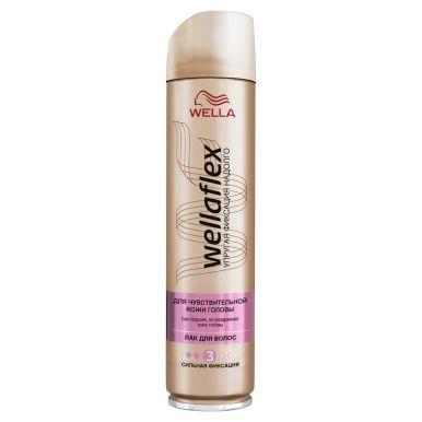 Wellaflex лак для волос сильной фиксации Без запаха, 250 мл