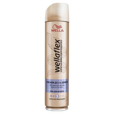 WELLA FLEX Лак д/волос Длительная поддержка объема сильной фиксации 250млWF836/210/367