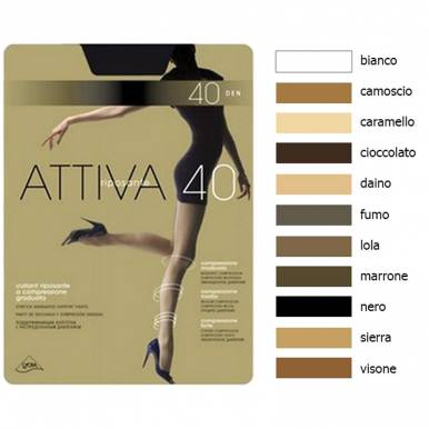Omsa колготки Attiva 40 р.3 цвет DAINO