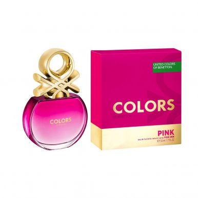 т/в BENETTON Colors Pink Woman 50 ml