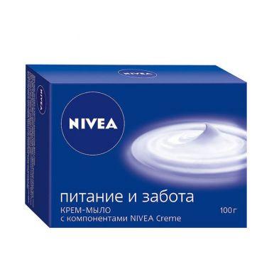 Nivea крем-мыло Питание и забота 100г