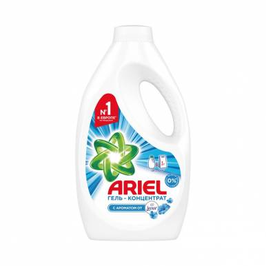 ARIEL Гель для стирки 1,3л Touch of Lenor Fresh